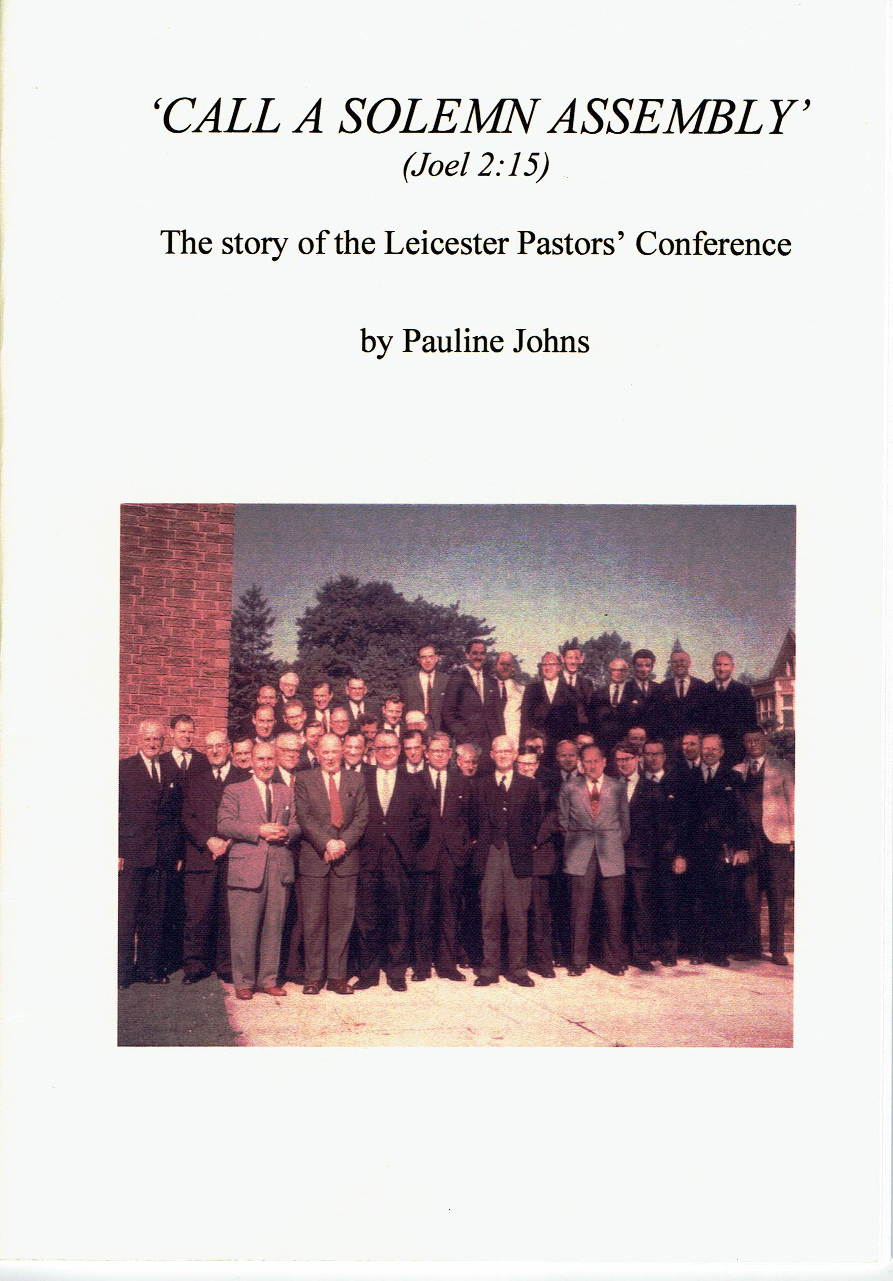 Leicester Pastors' Conference 1966
